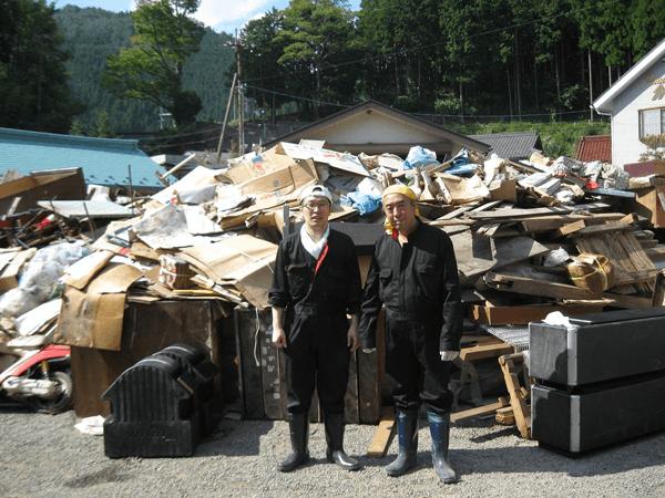 台風12号被害の復興支援